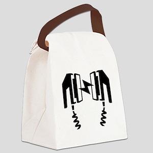 Defibrillator Canvas Lunch Bag