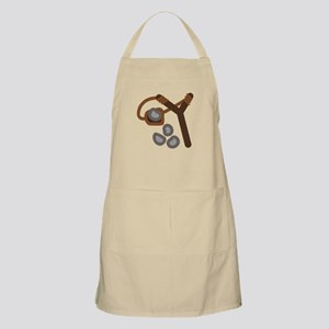 Slingshot With Stones Apron