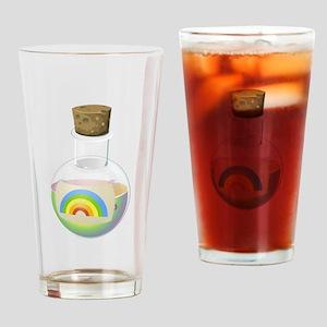 Rainbow Potion Drinking Glass