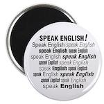 Speak English Speak English Magnet