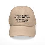 Speak English Speak English Cap