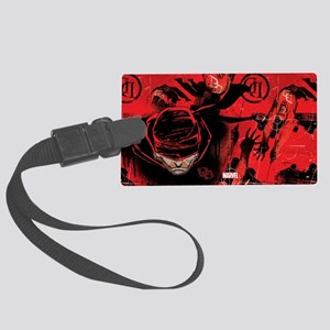 Daredevil Red Large Luggage Tag