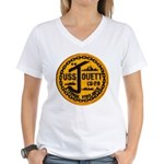 USS JOUETT Women's V-Neck T-Shirt