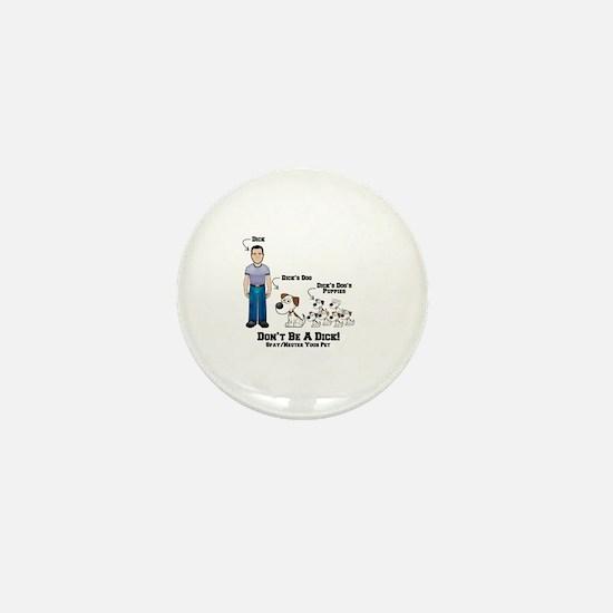 Cute Spay neuter adopt Mini Button