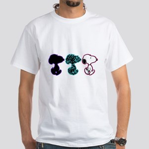 Snoopy Silhouette White T-Shirt