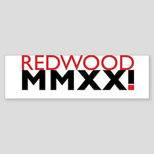 Redwood Roman Bumper Sticker