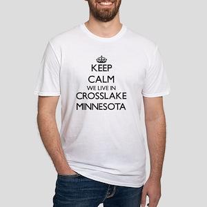 Keep calm we live in Crosslake Minnesota T-Shirt