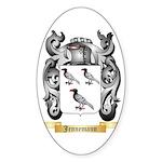 Jennemann Sticker (Oval 50 pk)
