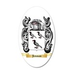 Jenman 20x12 Oval Wall Decal