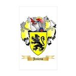Jenkyns Sticker (Rectangle 50 pk)