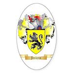 Jenkyns Sticker (Oval 50 pk)