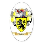 Jenkins Sticker (Oval 50 pk)