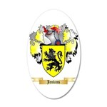 Jenkins 20x12 Oval Wall Decal