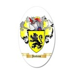 Jenkins 35x21 Oval Wall Decal