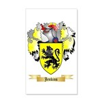 Jenkins 35x21 Wall Decal