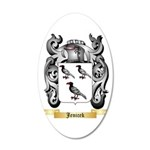 Jenicek 20x12 Oval Wall Decal