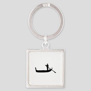 Gondola Square Keychain