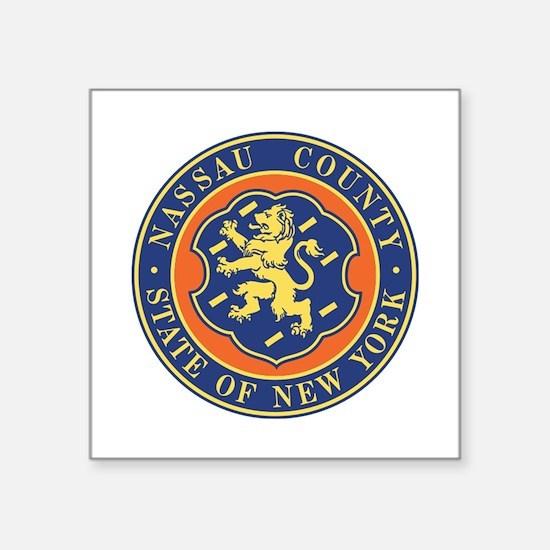 Nassau County Police Sticker