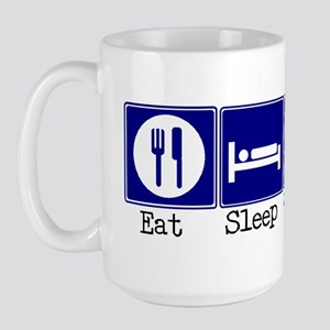 Eat, Sleep, Weave Large Mug