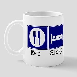 Eat, Sleep, Weave Mug