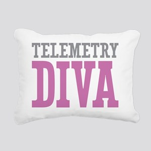 Telemetry DIVA Rectangular Canvas Pillow