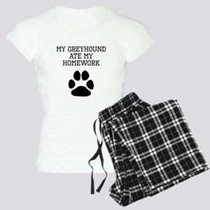 My Greyhound Ate My Homework Pajamas