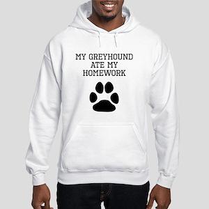 My Greyhound Ate My Homework Hoodie