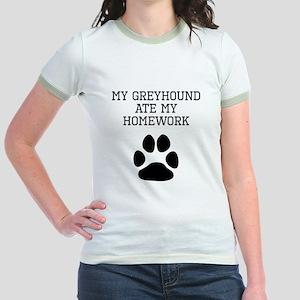 My Greyhound Ate My Homework T-Shirt