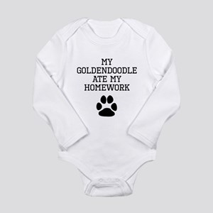 My Goldendoodle Ate My Homework Body Suit