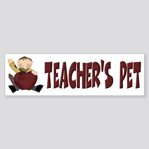 Teacher's Pet Bumper Sticker