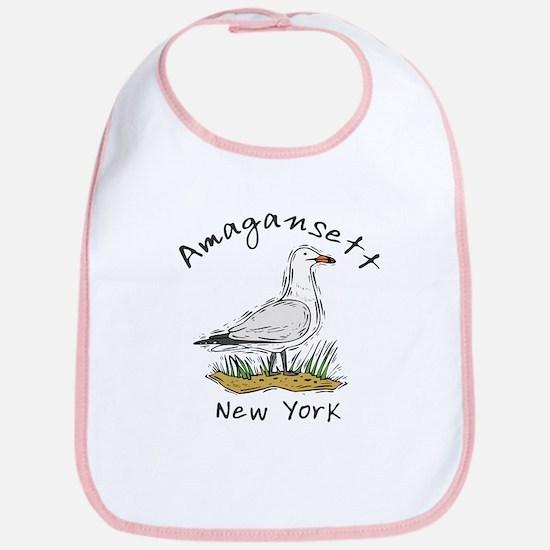 Seagull Amagansett Cotton Baby Bib