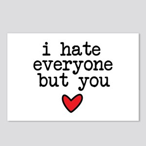 Hate Everyone Postcards (Package of 8)