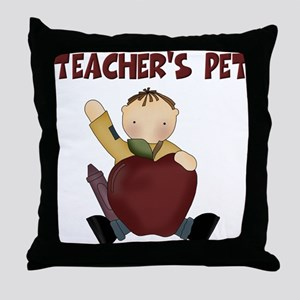 Teacher's Pet Throw Pillow