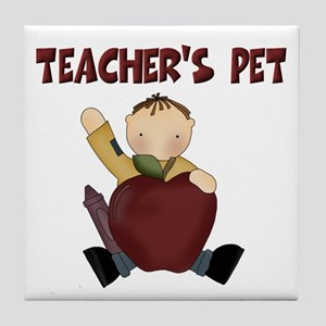 Teacher's Pet Tile Coaster
