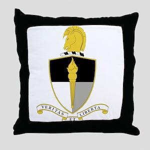 John F. Kennedy Special Warfare Cente Throw Pillow