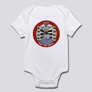 USS POINT DEFIANCE Infant Bodysuit