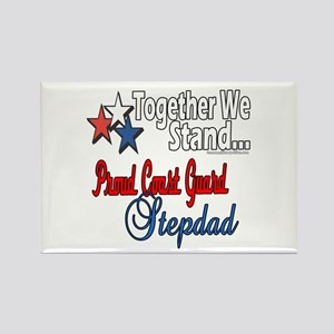 Coast Guard Stepdad Rectangle Magnet