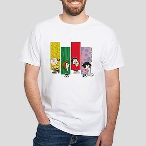The Peanuts Gang White T-Shirt