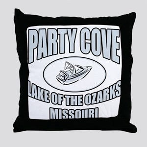 Party Cove LoTo Throw Pillow