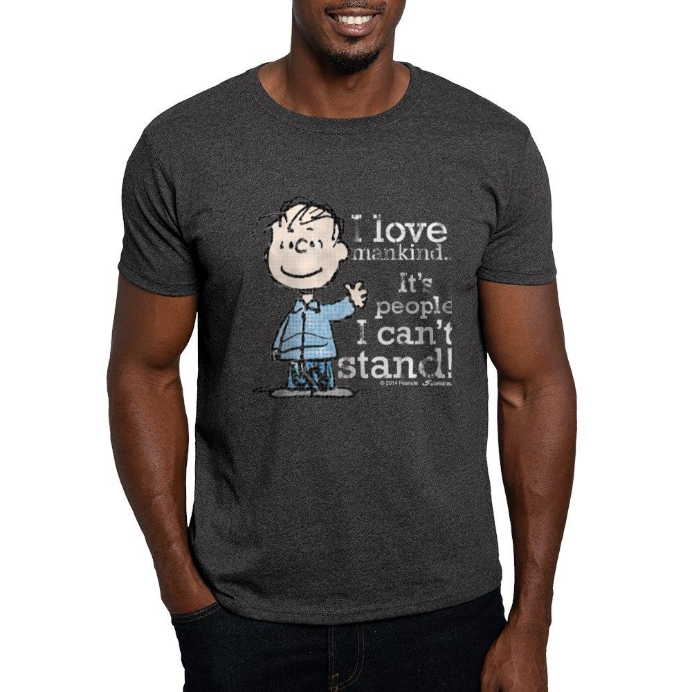 CafePress-The-Peanuts-Gang-Linus-Dark-T-Shirt-100-Cotton-T-Shirt-1487512203 thumbnail 94