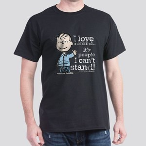 The Peanuts Gang: Linus Dark T-Shirt