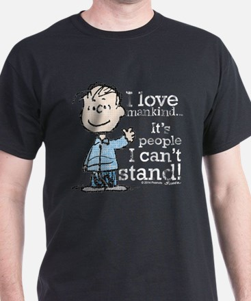The Peanuts Gang: Linus T-Shirt