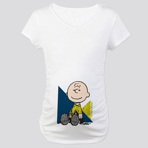 The Peanuts Gang: Charlie Brown Maternity T-Shirt
