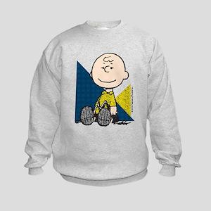 The Peanuts Gang: Charlie Brown Kids Sweatshirt
