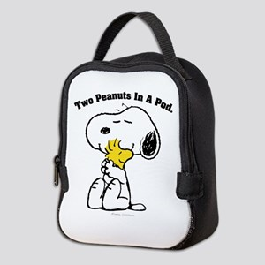 Snoopy and Woodstock Hug Neoprene Lunch Bag