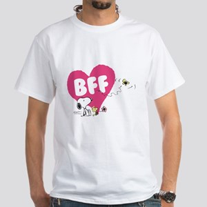 Snoopy and Woodstock White T-Shirt