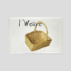 i weave Rectangle Magnet