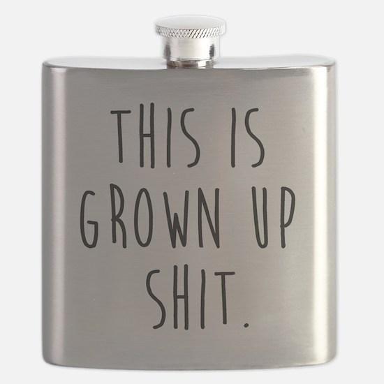 Cute Ups Flask