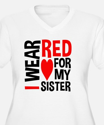 Red Sister Plus Size T-Shirt