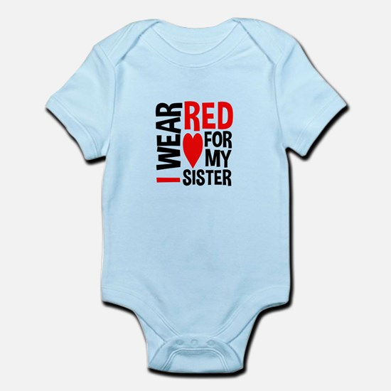 Red Sister Body Suit